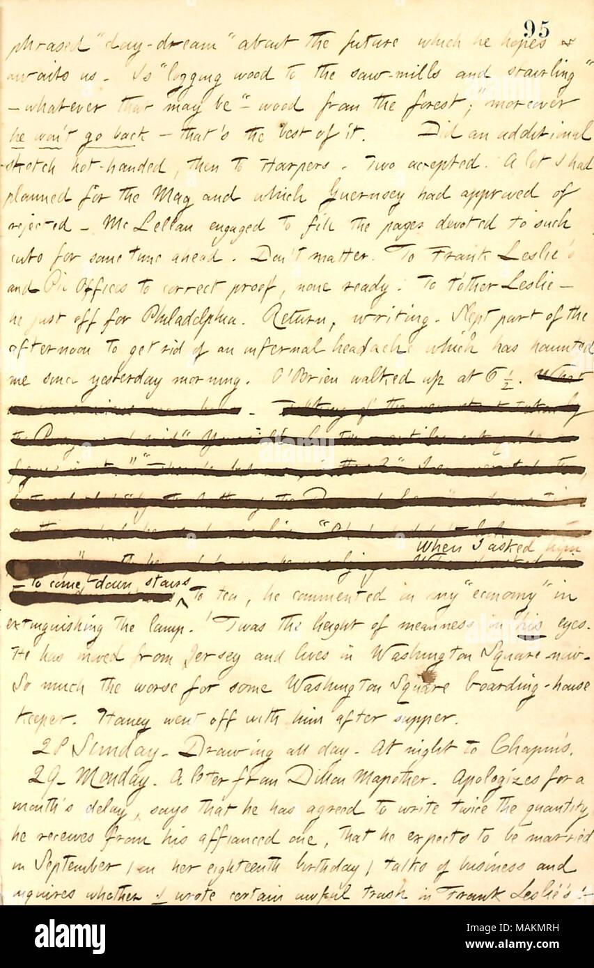 Beschreibt Briefe Von George Bolton Und Dillon Mapother Empfangen