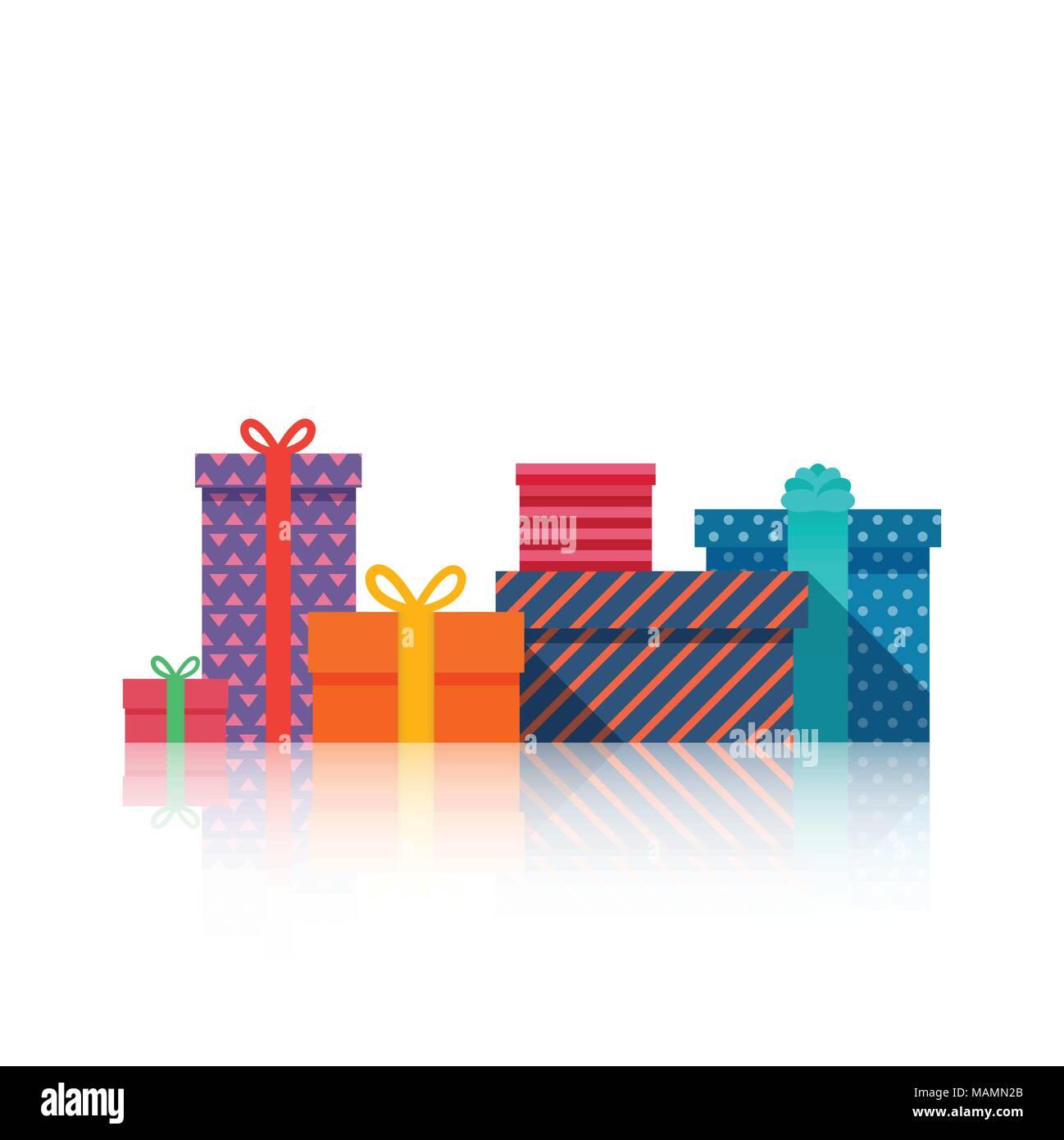 Geschenke Boxen schönes Geschenk Box mit Schleife. Geschenkbox ...