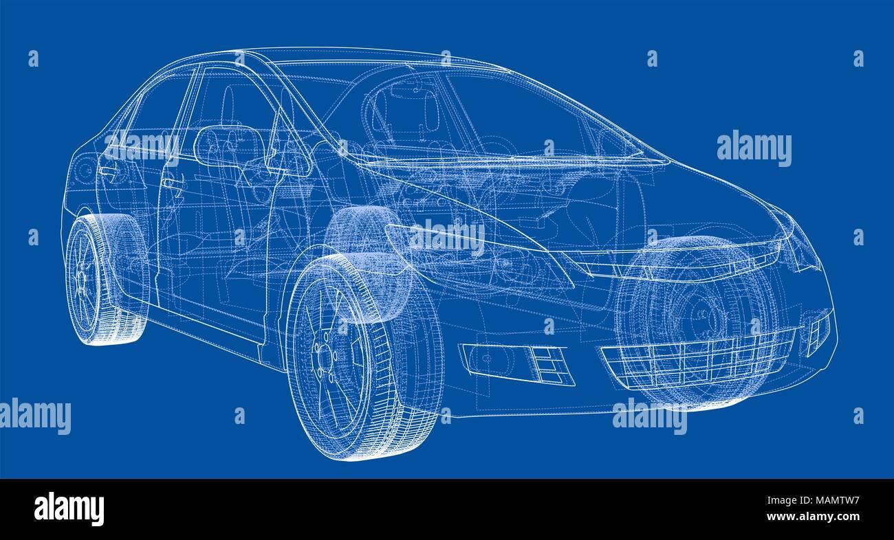 Tolle Auto Blaupause Ideen - Elektrische Schaltplan-Ideen ...