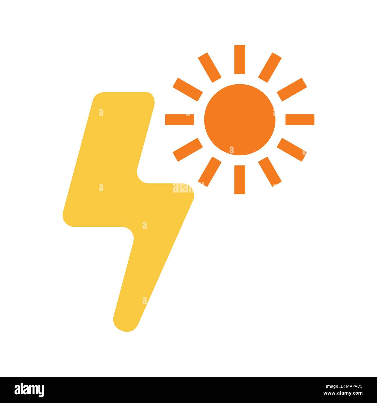 Light Supply Icon Flat Design Stockfotos & Light Supply Icon Flat ...