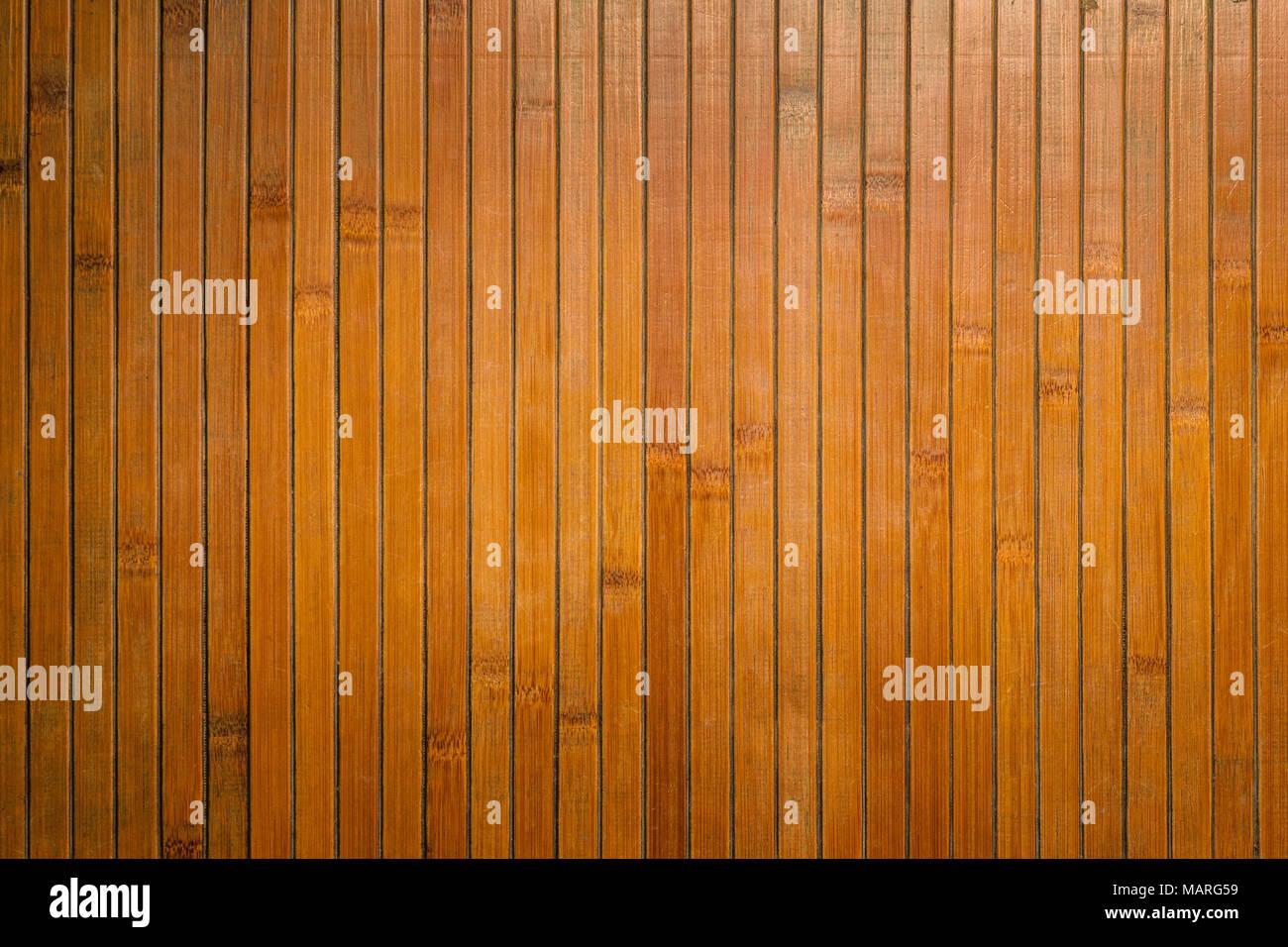 bambus struktur wand hintergrund der ansicht von oben stockfoto