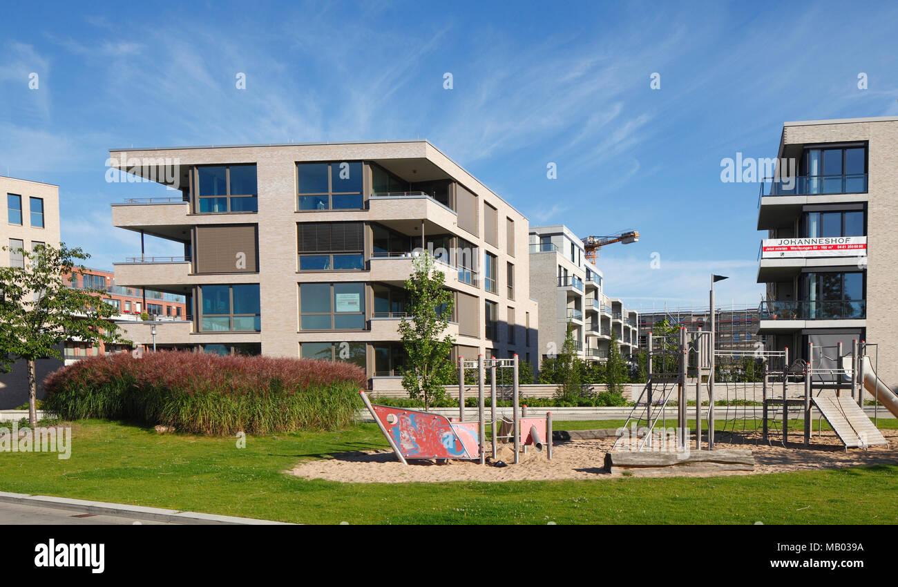 Moderne Mehrfamilienhäuser Bilder modernes apartment gebäuden oldenburg in oldenburg niedersachsen