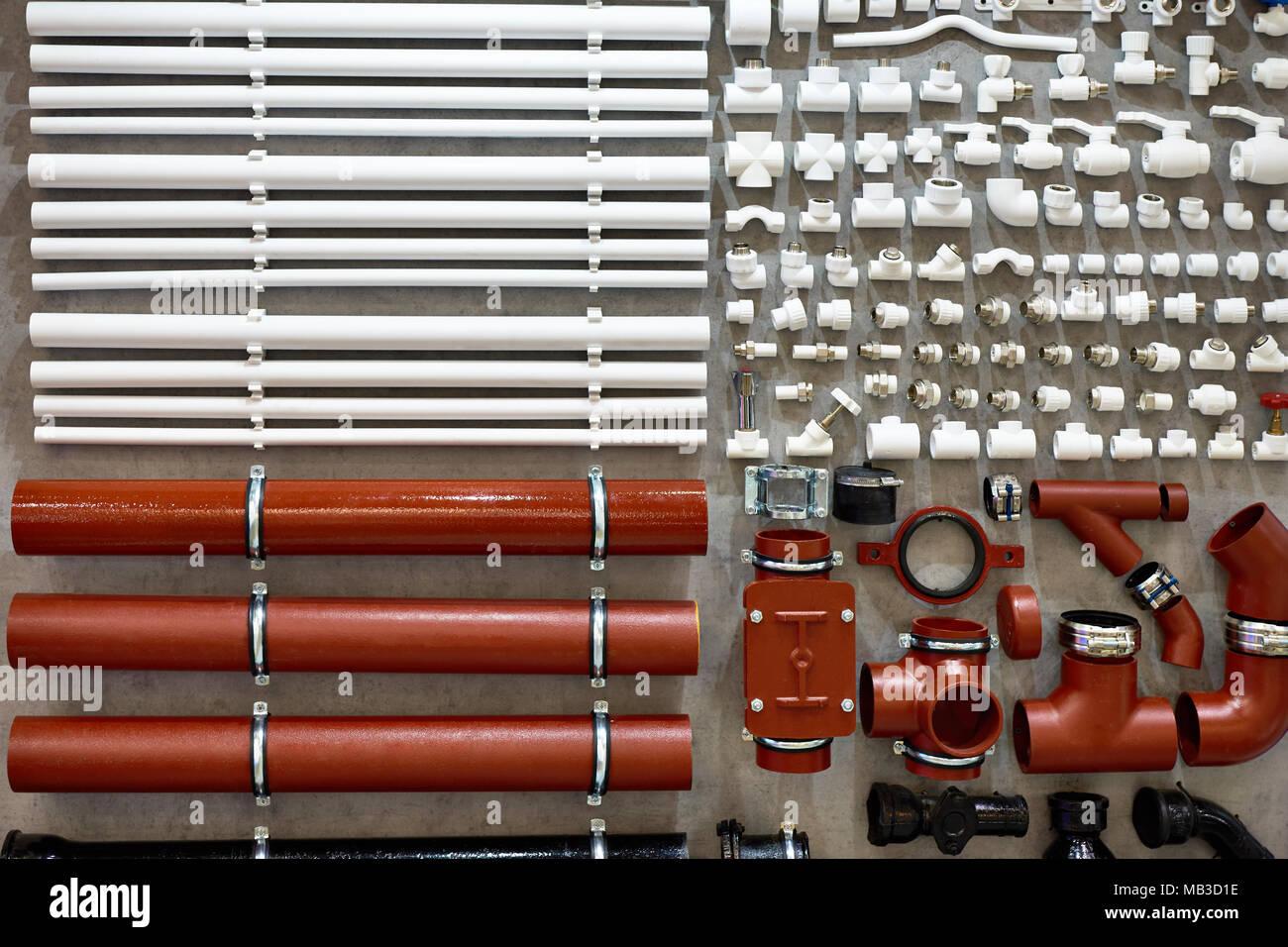 Häufig PVC-Fittings und Rohre aus Kunststoff für Wasser- Sanitär Heizung CP38