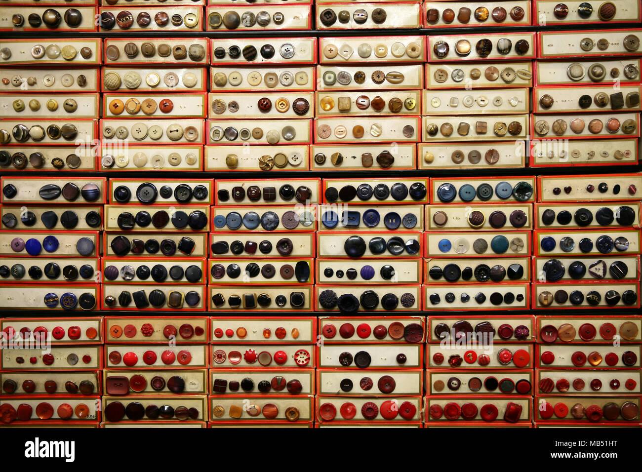 Tasten-Archiv Stockbild