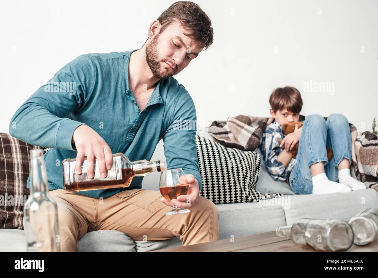 Vater Alkoholiker Kind