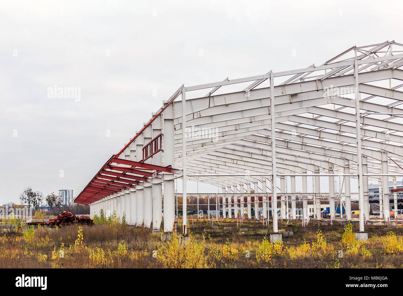 Steel Roof Truss Stockfotos U0026 Steel Roof Truss Bilder   Seite 2   Alamy