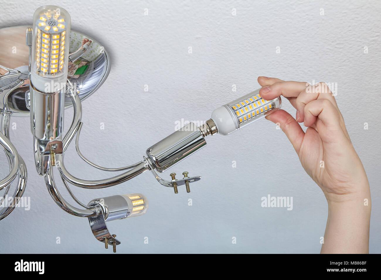 Led Birnen Kronleuchter ~ Einstellung der haushalt led lampen mais typ in der lampenfassung
