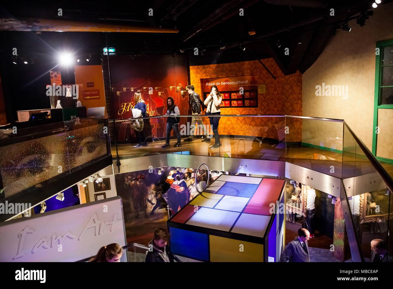 Wax model museum stockfotos wax model museum bilder alamy for Interieur niederlande