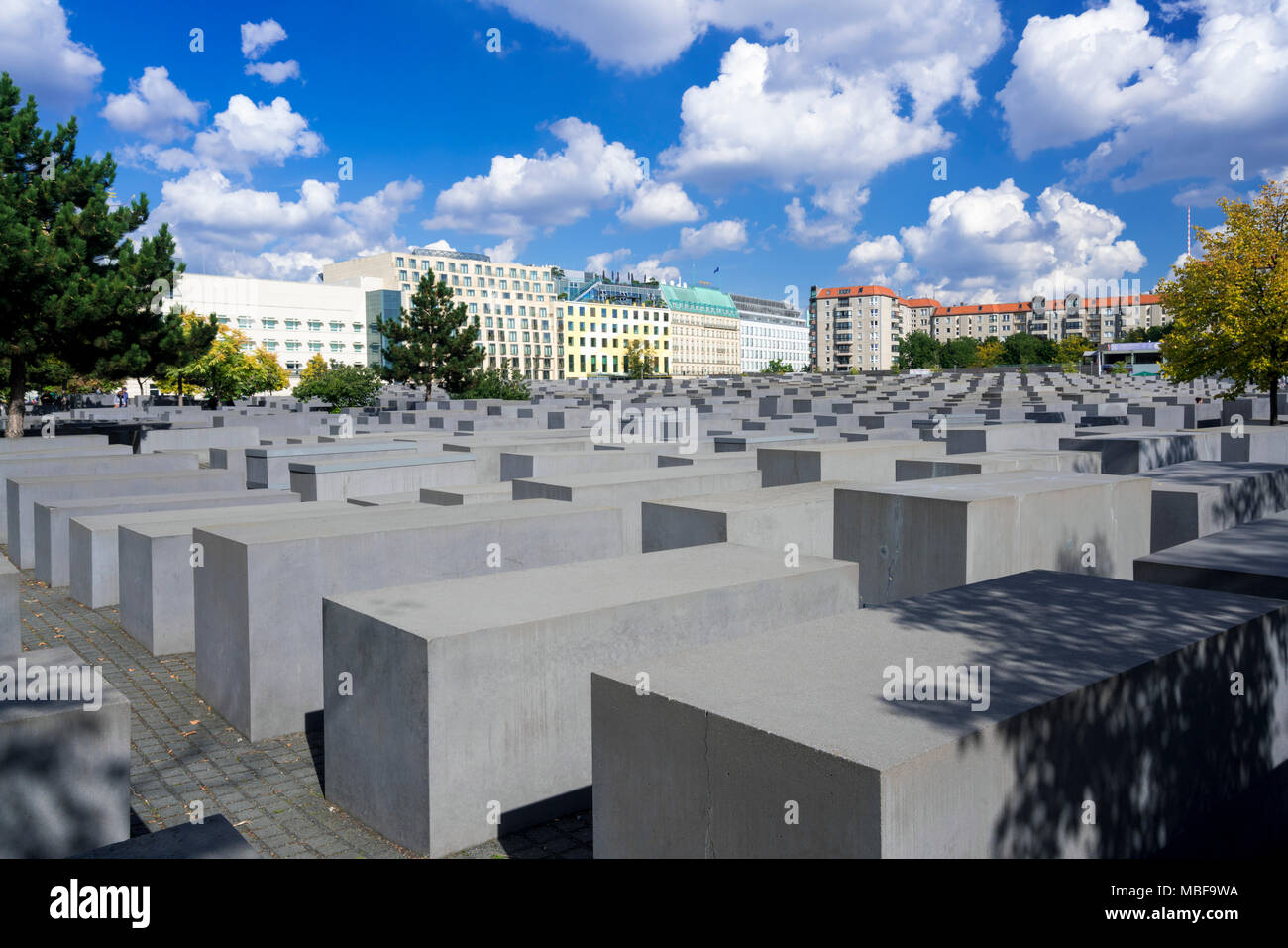 Holocaust Mahnmal Berlin, Deutschland, Europa Stockfoto
