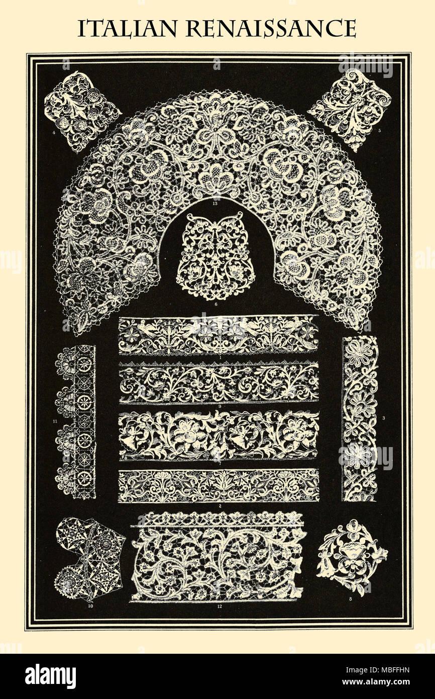 Ornament - ITALIENISCHE RENAISSANCE Stockbild