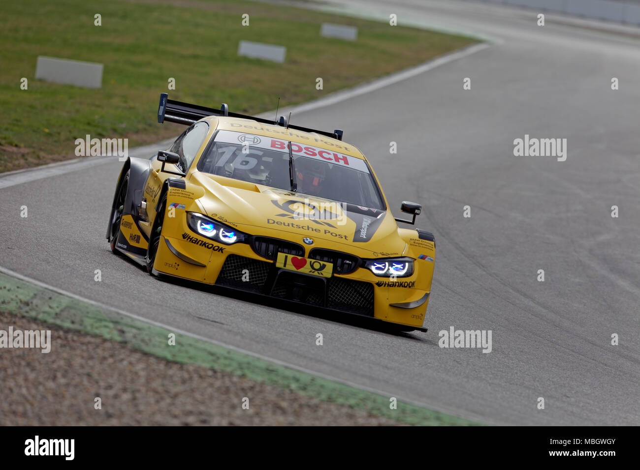 timo glock ger bmw m4 dtm 2018 tests hockenheim. Black Bedroom Furniture Sets. Home Design Ideas