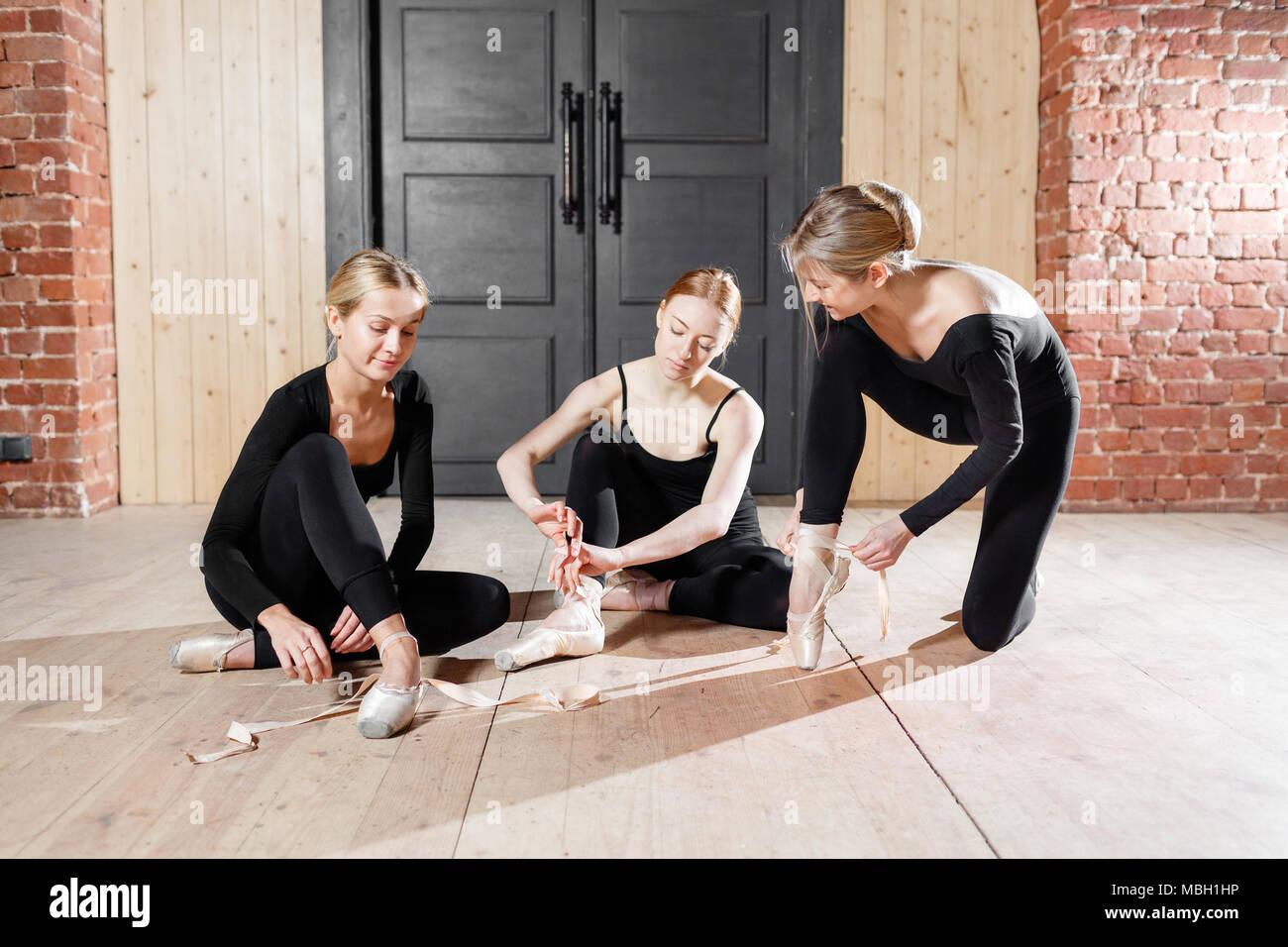 Ballerinas Ficken Bei Der Probe