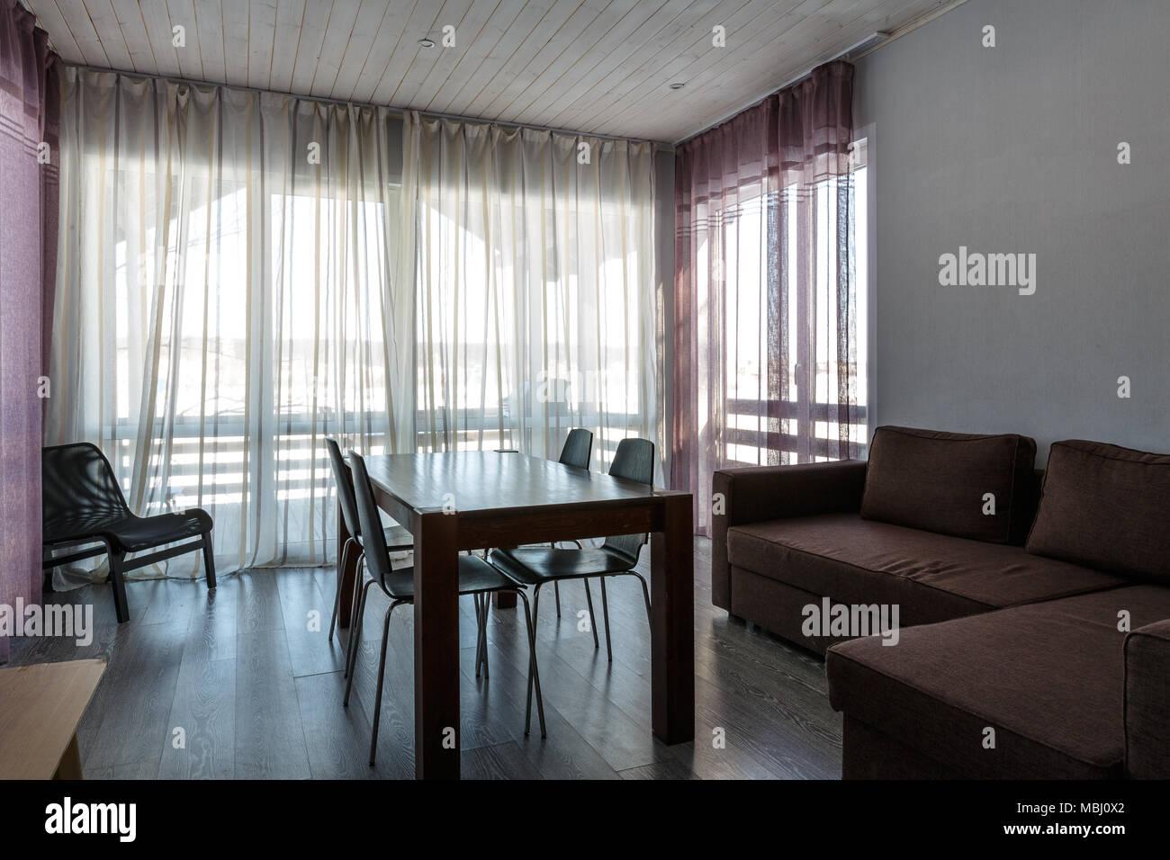 Innenraum Foto für Designer Schlafzimmer im skandinavischen Stil ...