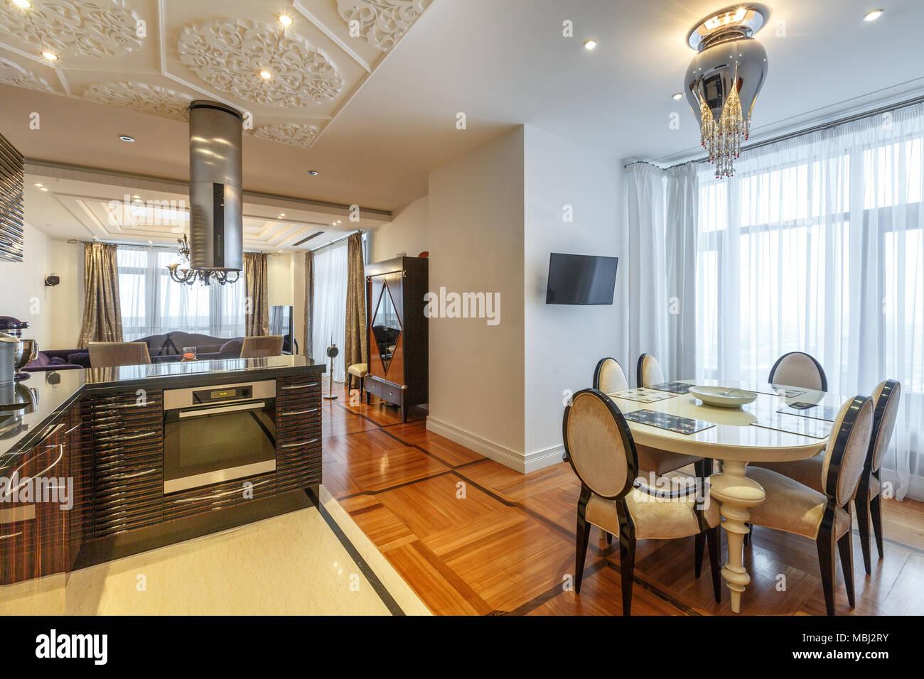 Luxus Esszimmer Innenraum Stockfoto Bild 179262271 Alamy