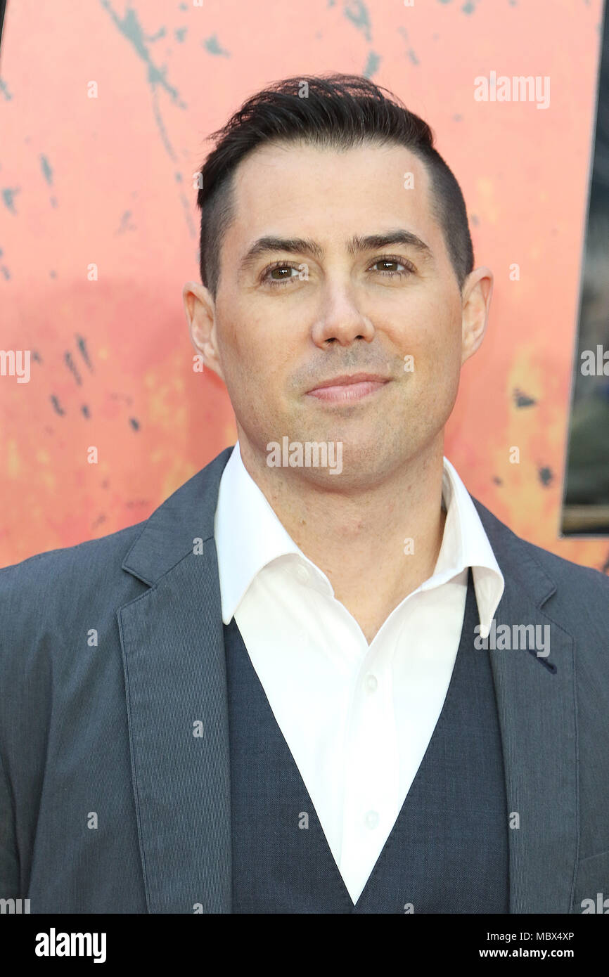London, Großbritannien. 11. April 2018. Brad Peyton, Rampage - Europäische Premiere, Leicester Square, London, UK, 11. April 2018, Foto von Richard Goldschmidt Credit: Rich Gold/Alamy leben Nachrichten Stockbild