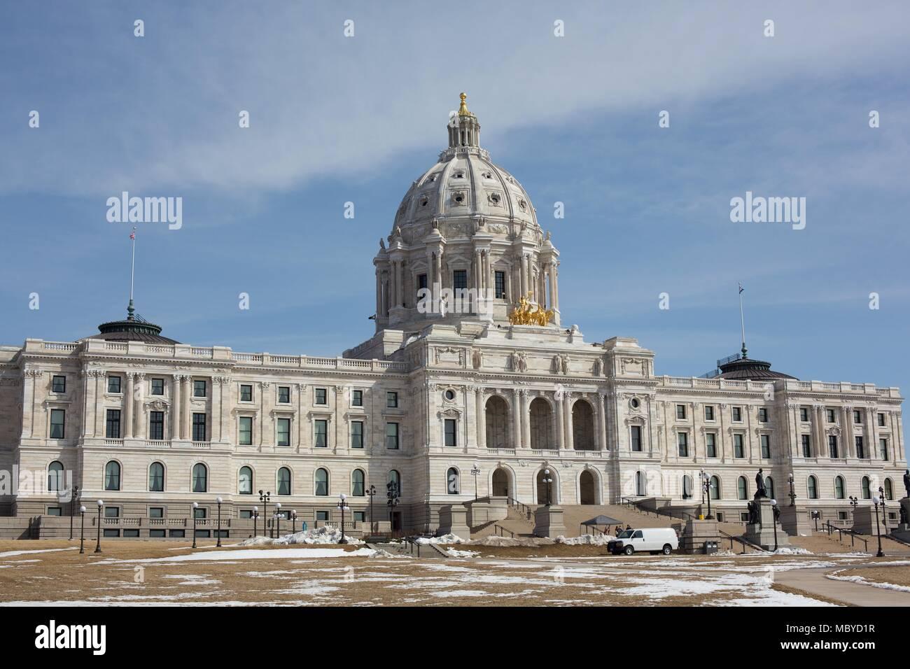 Minnesota State Capitol Stockfotos & Minnesota State Capitol Bilder ...