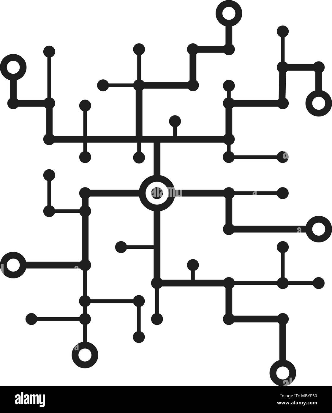 Circuit Line Stockfotos & Circuit Line Bilder - Alamy