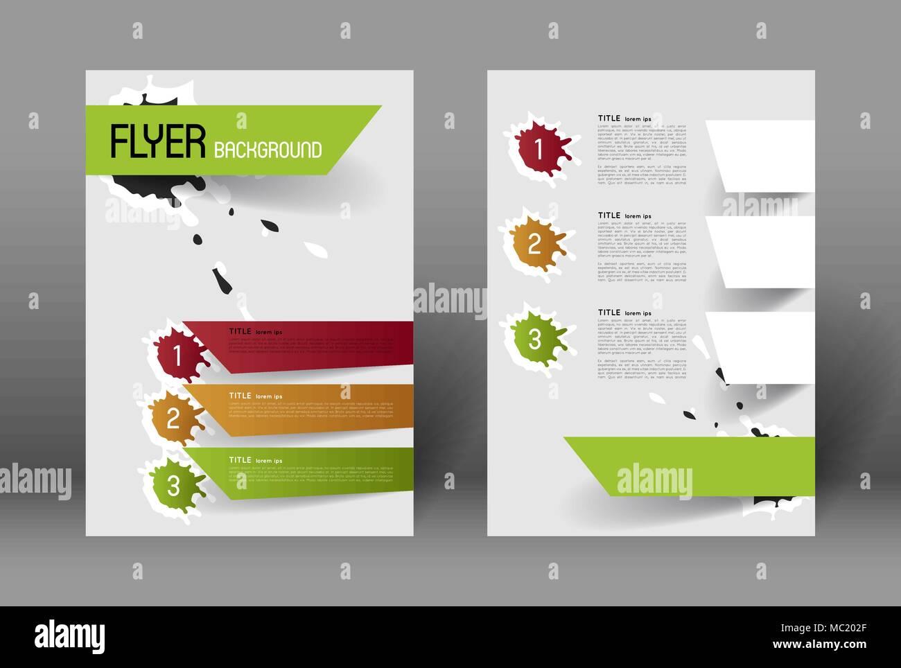 Ziemlich Beispiel Flyer Ideen - Bilder für das Lebenslauf ...