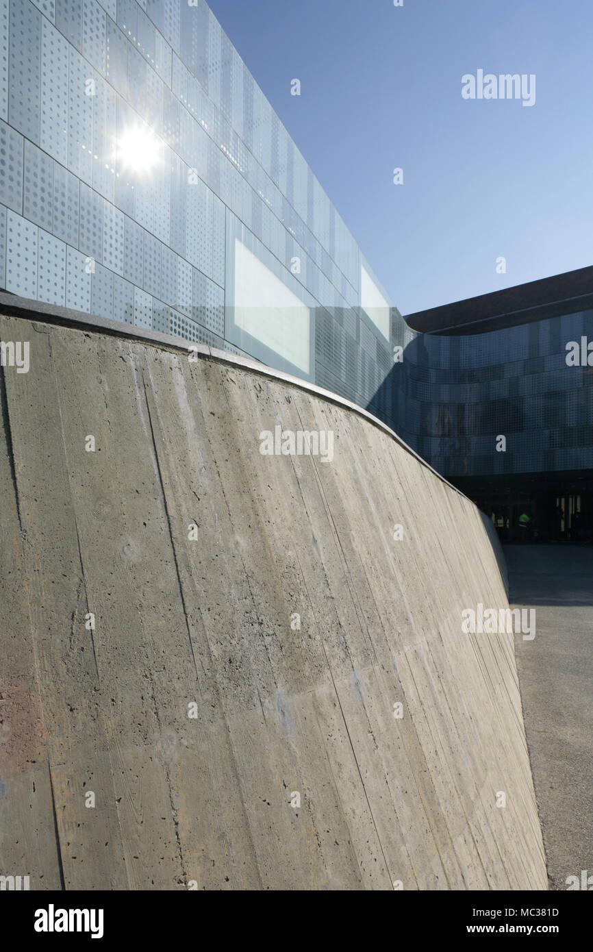 Detail der National Automobile Museum, Turin, Italien. Stockfoto