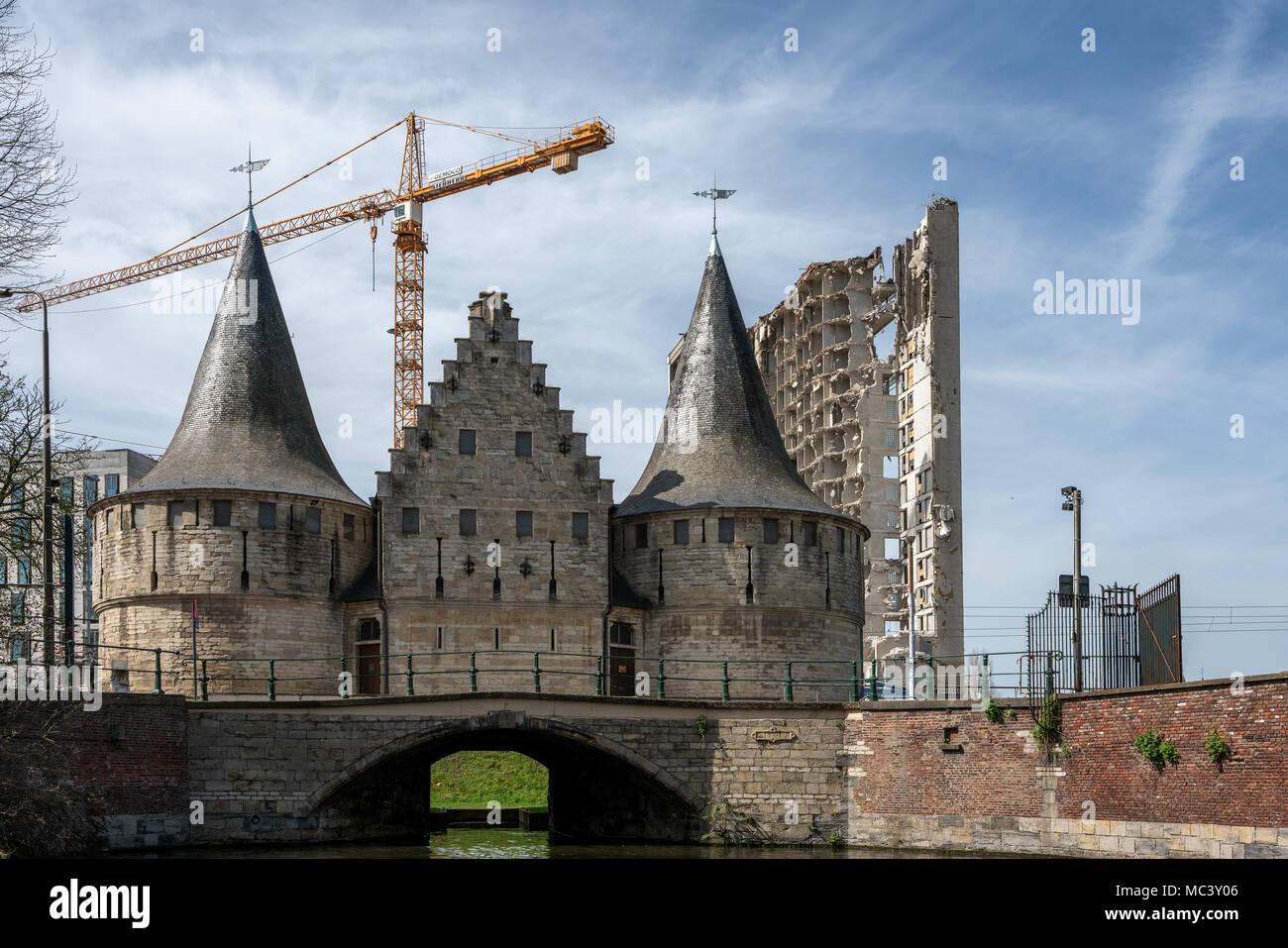 Gent Belgien - Gent, Belgien Stockbild