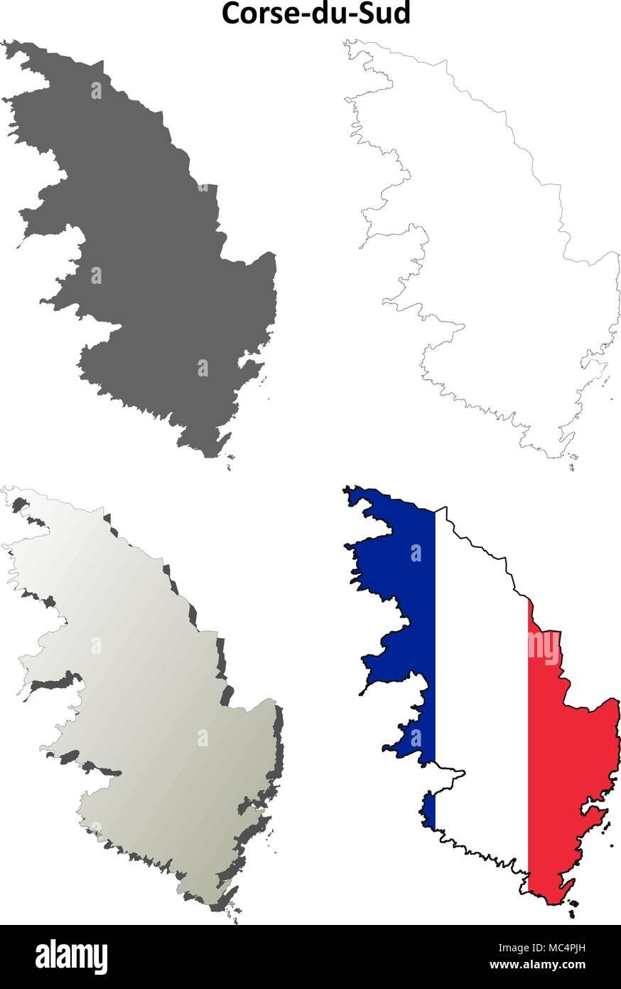 Corsica Map Stockfotos & Corsica Map Bilder - Seite 3 - Alamy