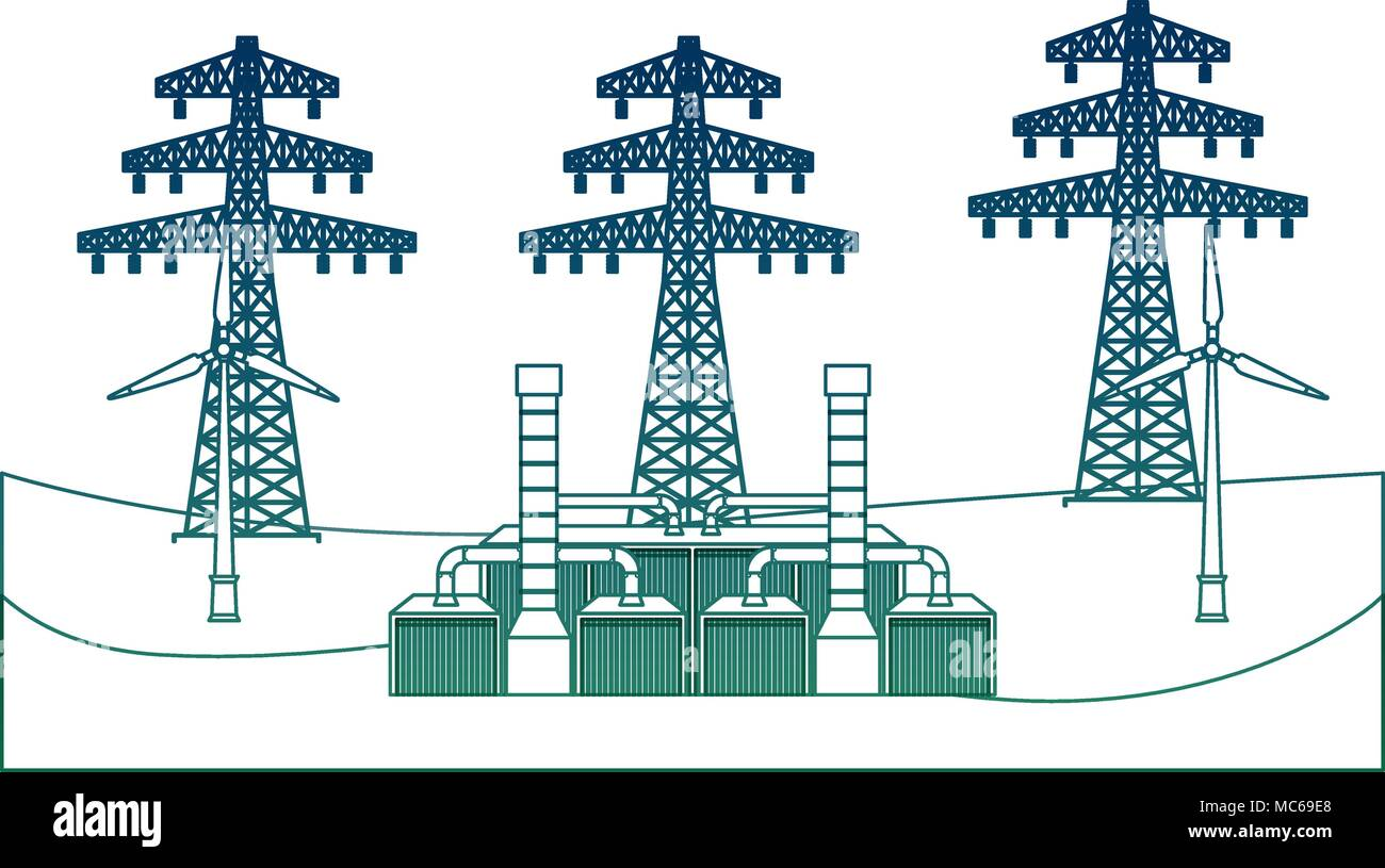 Ökologie alternative Energie Stockbild