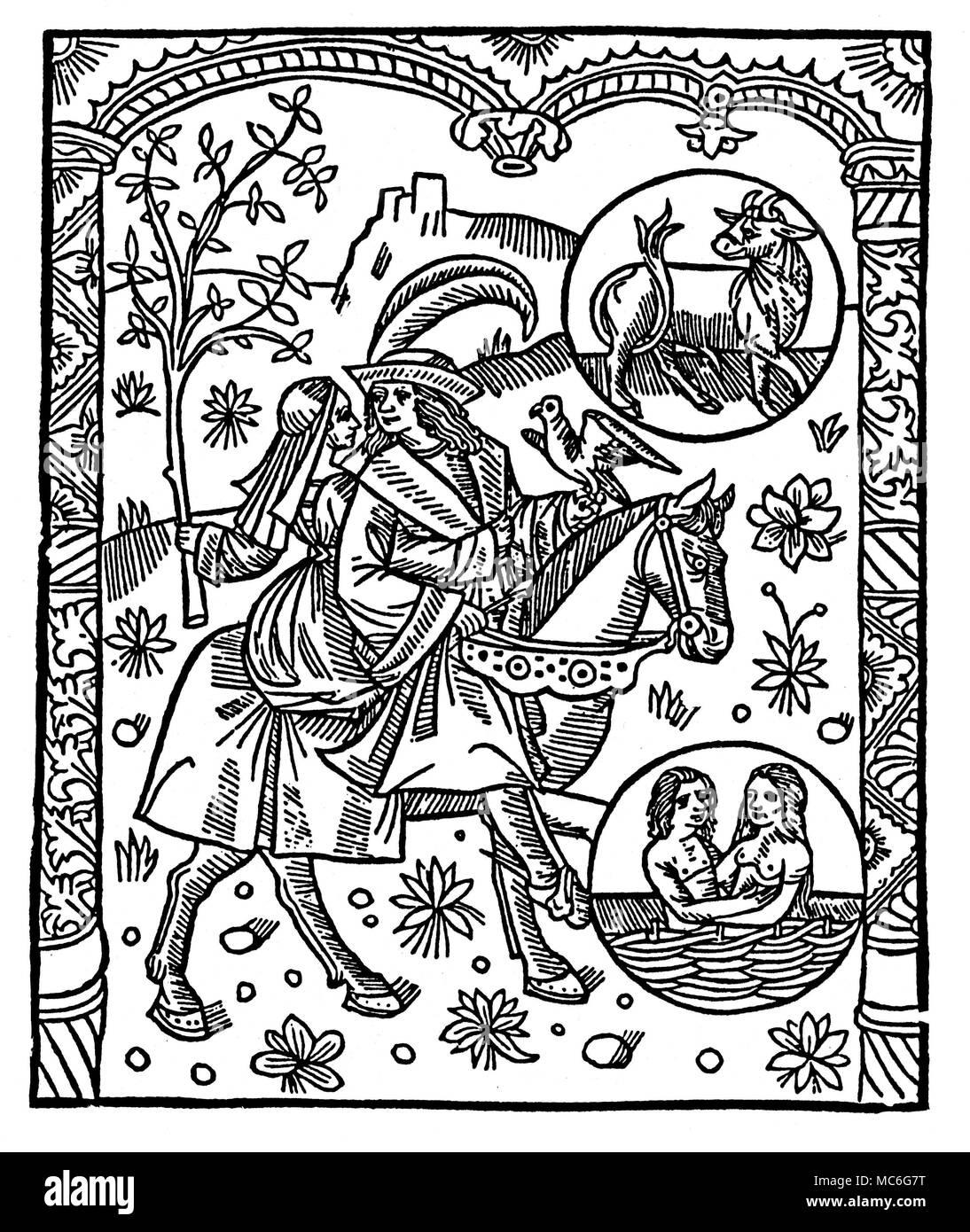 Datierung eines Leo-Mann Astrologie