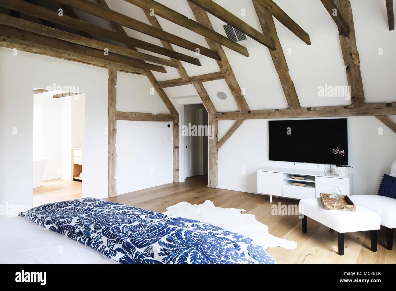 Schlafzimmer Mit Dachschrage Private Residence Westport Usa
