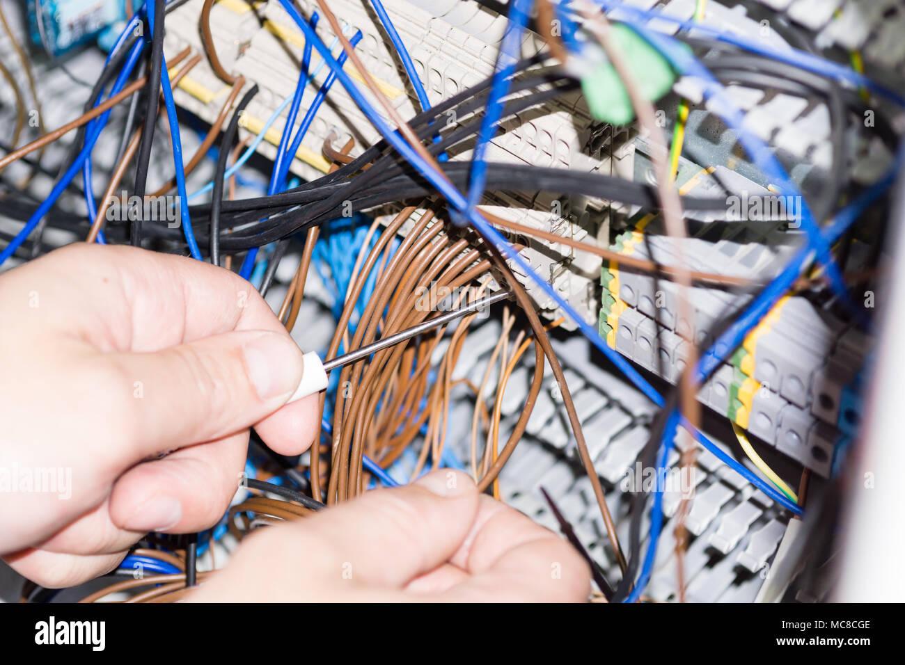 Ziemlich Wie Man Elektrische Schaltkasten Installiert Zeitgenössisch ...