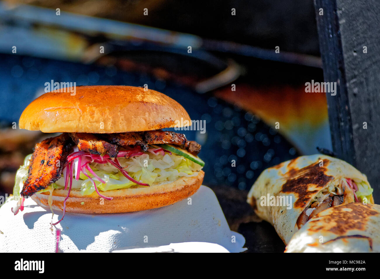 Fast Food. Stockbild