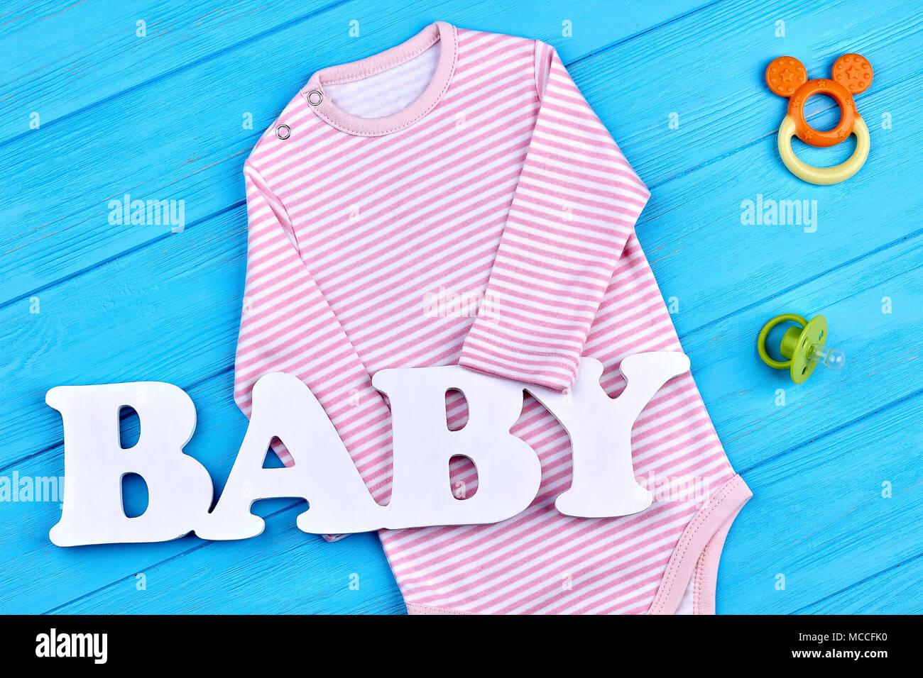 factory price 5029c fccd8 Rosa Streifen Strampler für Baby - Mädchen. Kleinkind Baby ...