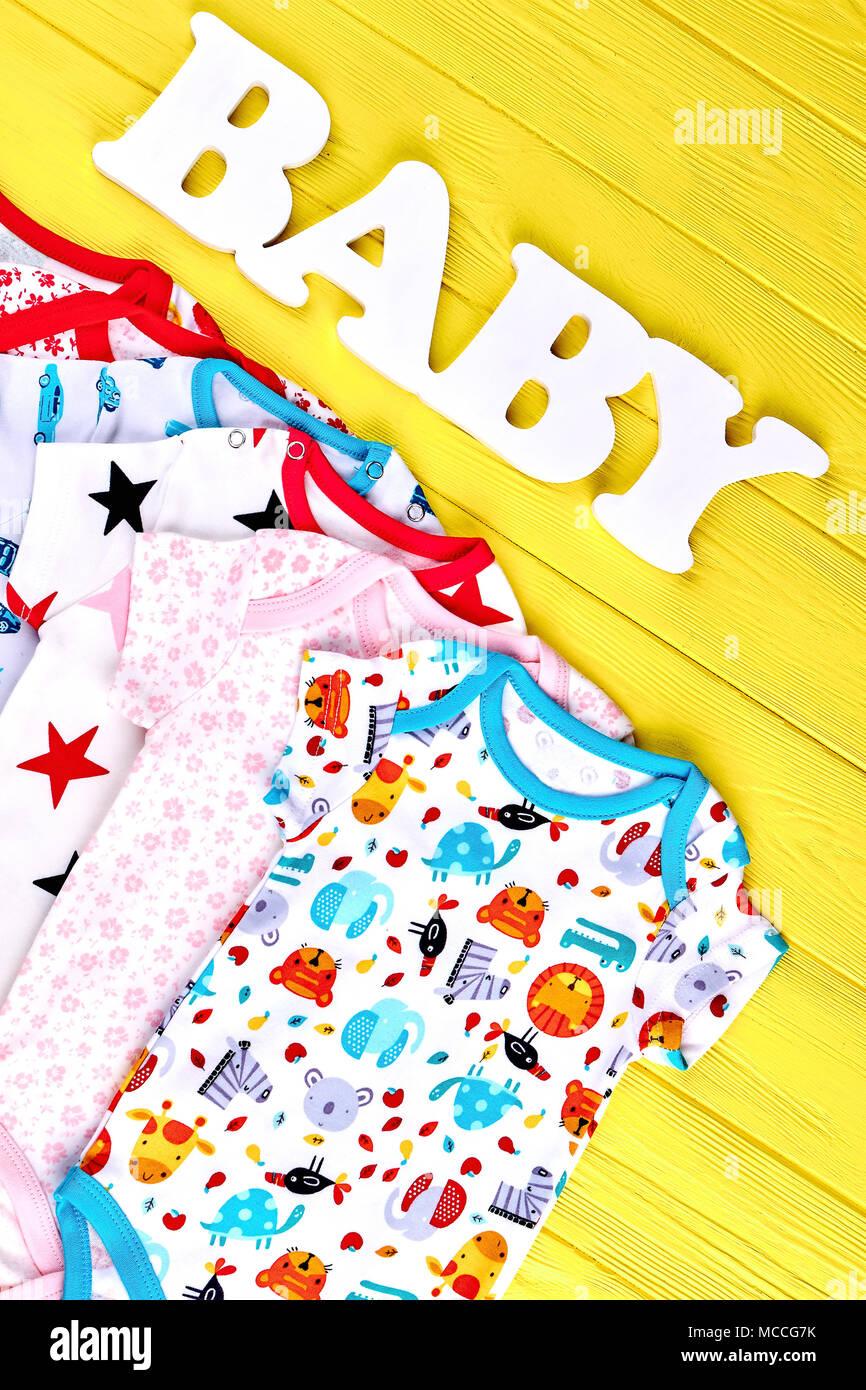 online retailer 46d27 28941 Neugeborene Kinder organische Kleidung, Ansicht von oben ...