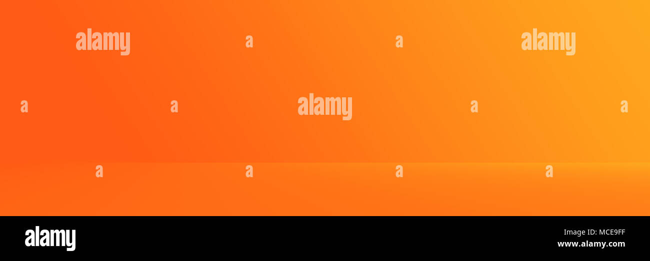 Studio Hintergrund-abstrakten helle Luxus orange Gradient ...