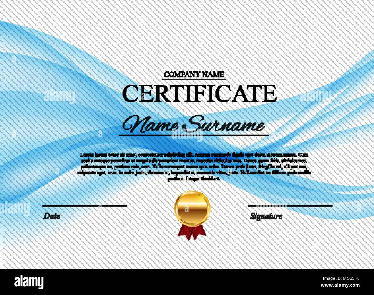 Diploma Template Stockfotos & Diploma Template Bilder - Alamy