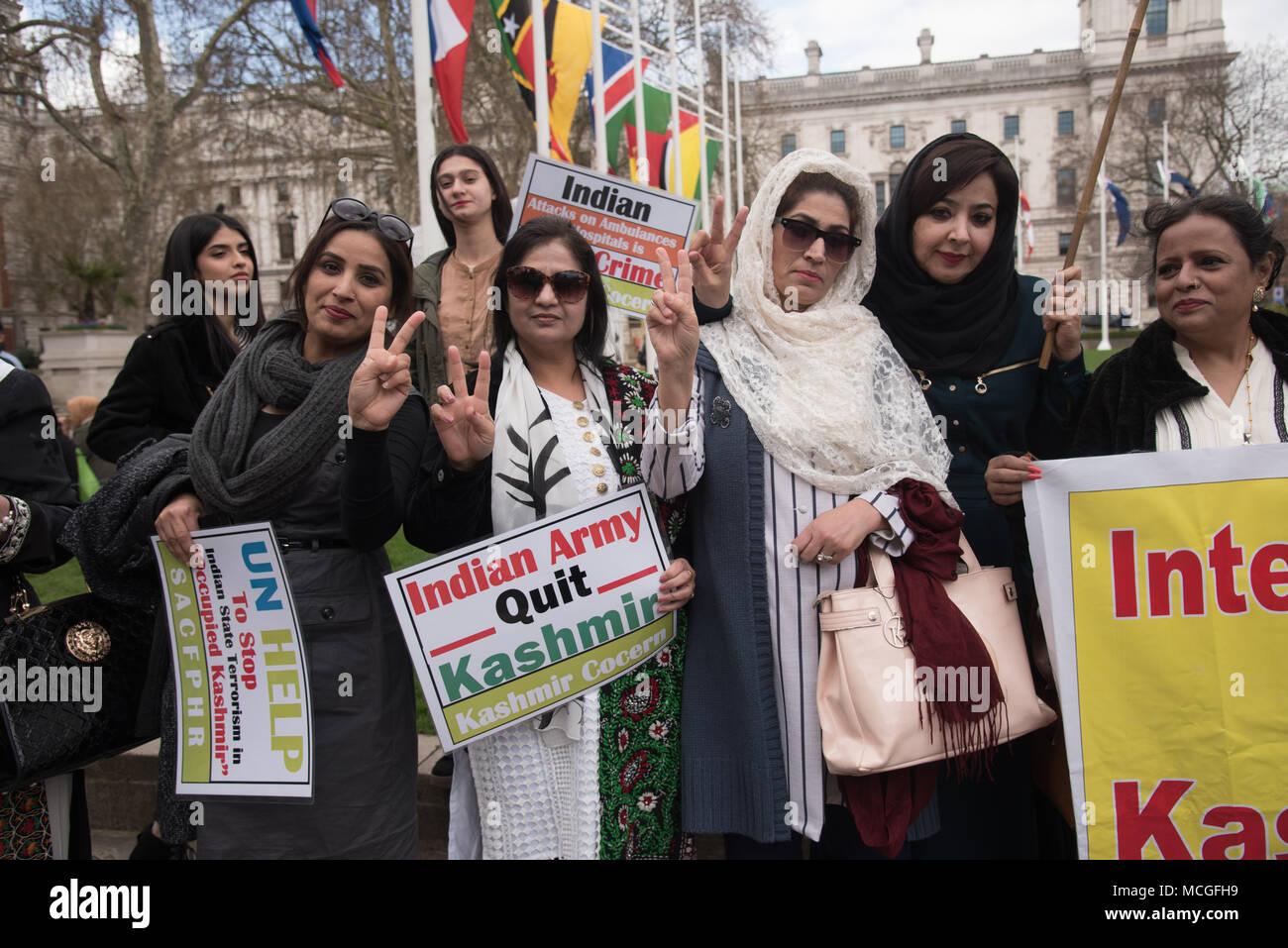 Indische Mädchen in London