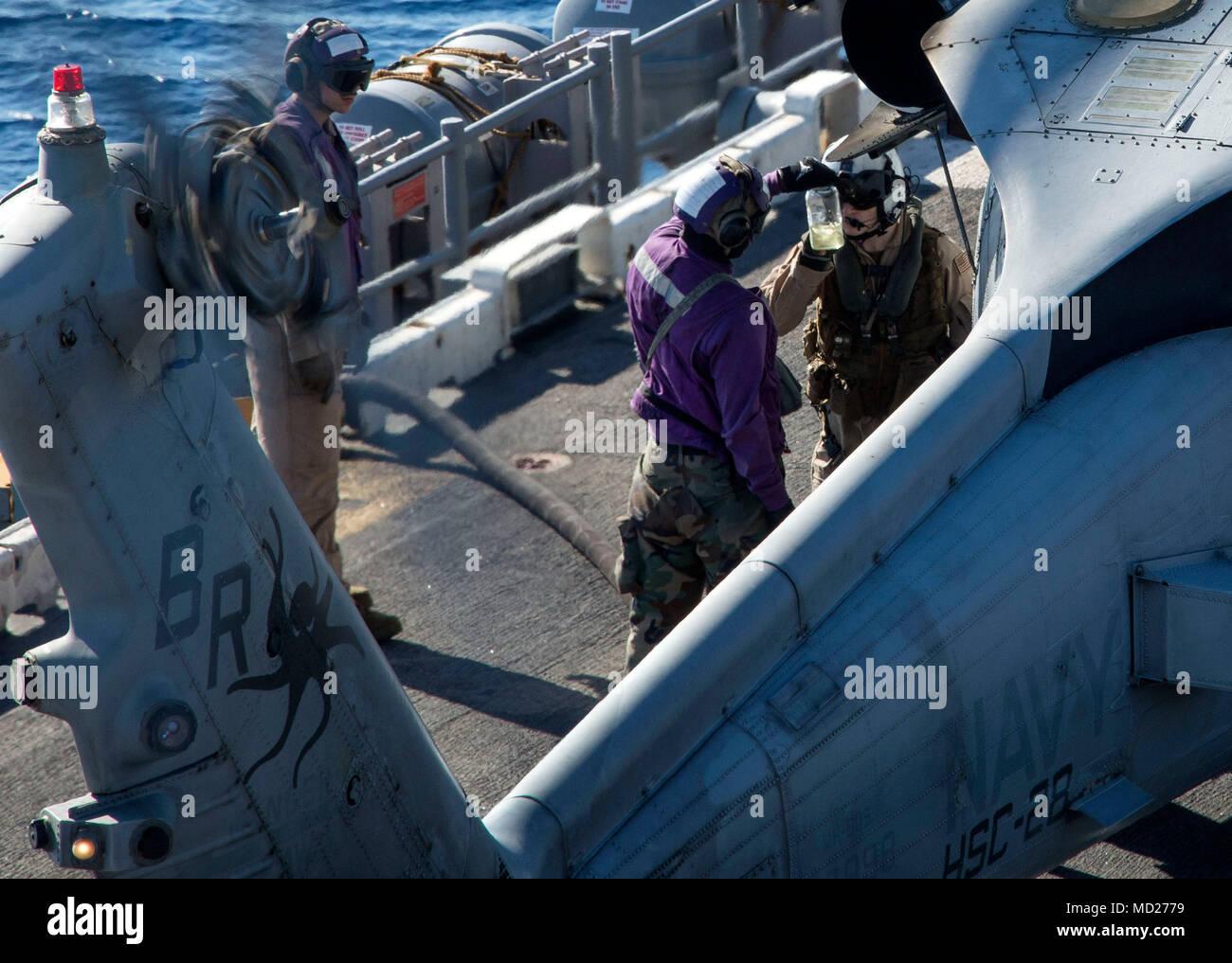 180312 N Js 726 0198 Mittelmeer 12 Marz 2018 Naval Air Crewman
