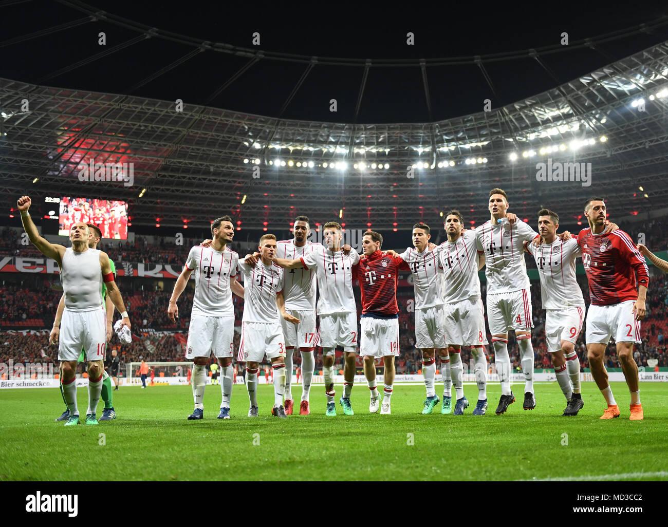 17 April 2018 Leverkusen Deutschland Fussball Dfb Pokal
