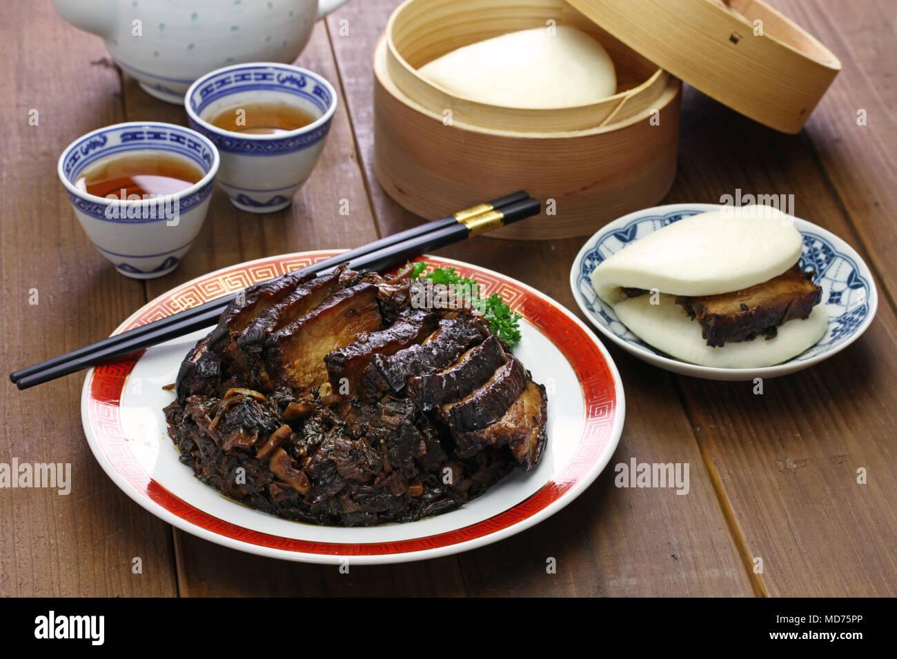 Chinese Pork Buns Stockfotos & Chinese Pork Buns Bilder - Alamy