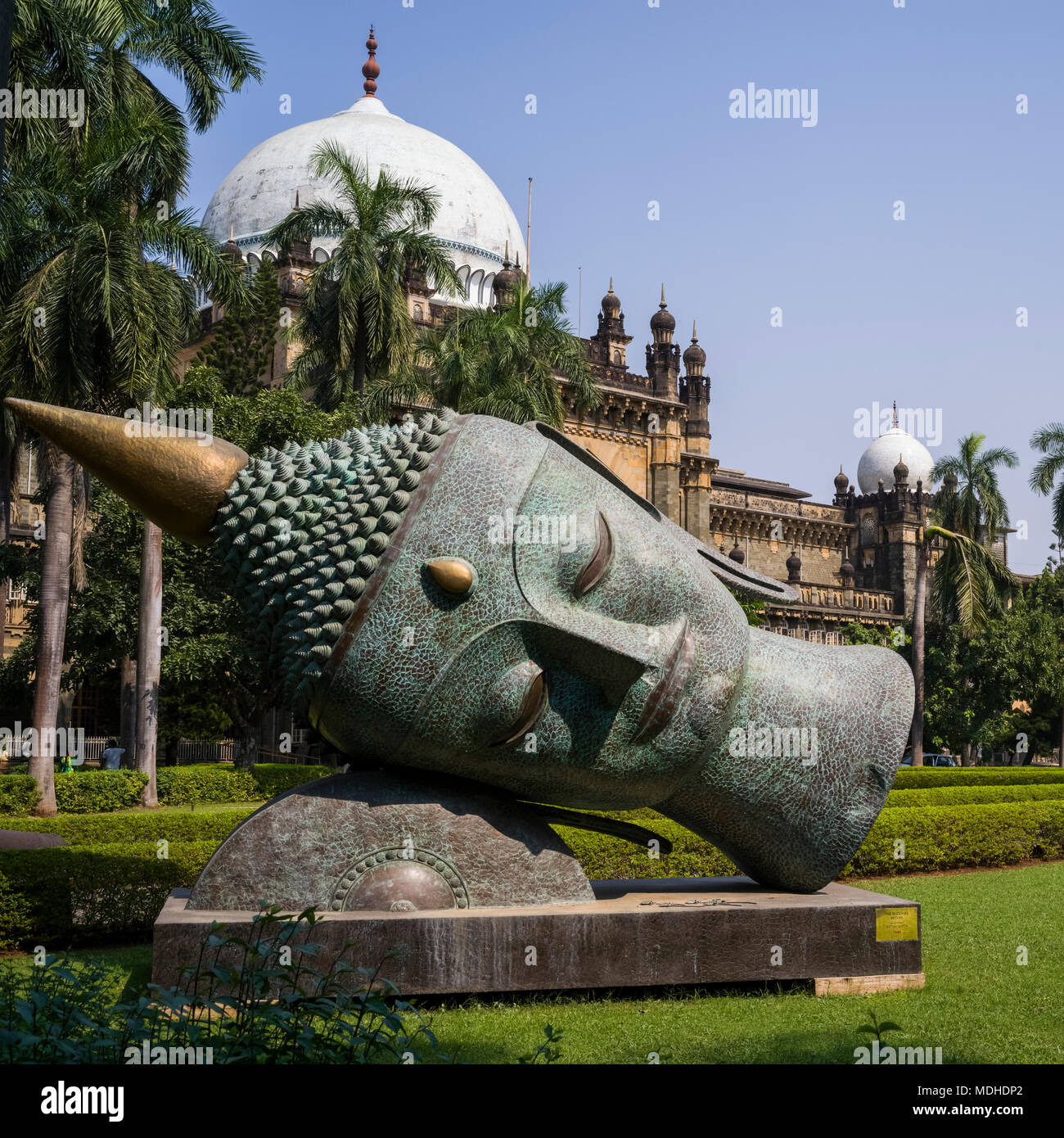 Prince of Wales Museum der westlichen Indien, umbenannt König Shivaji Museum, Mumbai, Maharashtra, Indien Stockbild