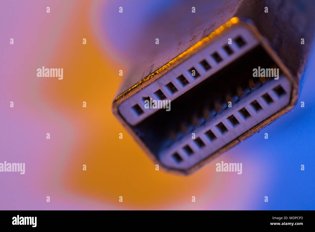 Monitor Signal Cable Stockfotos & Monitor Signal Cable Bilder - Alamy