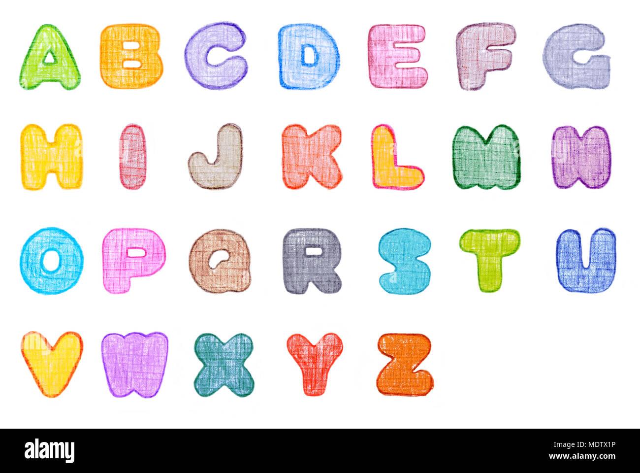 Großartig Alphabet Färbung Buchstaben Fotos - Malvorlagen Von Tieren ...
