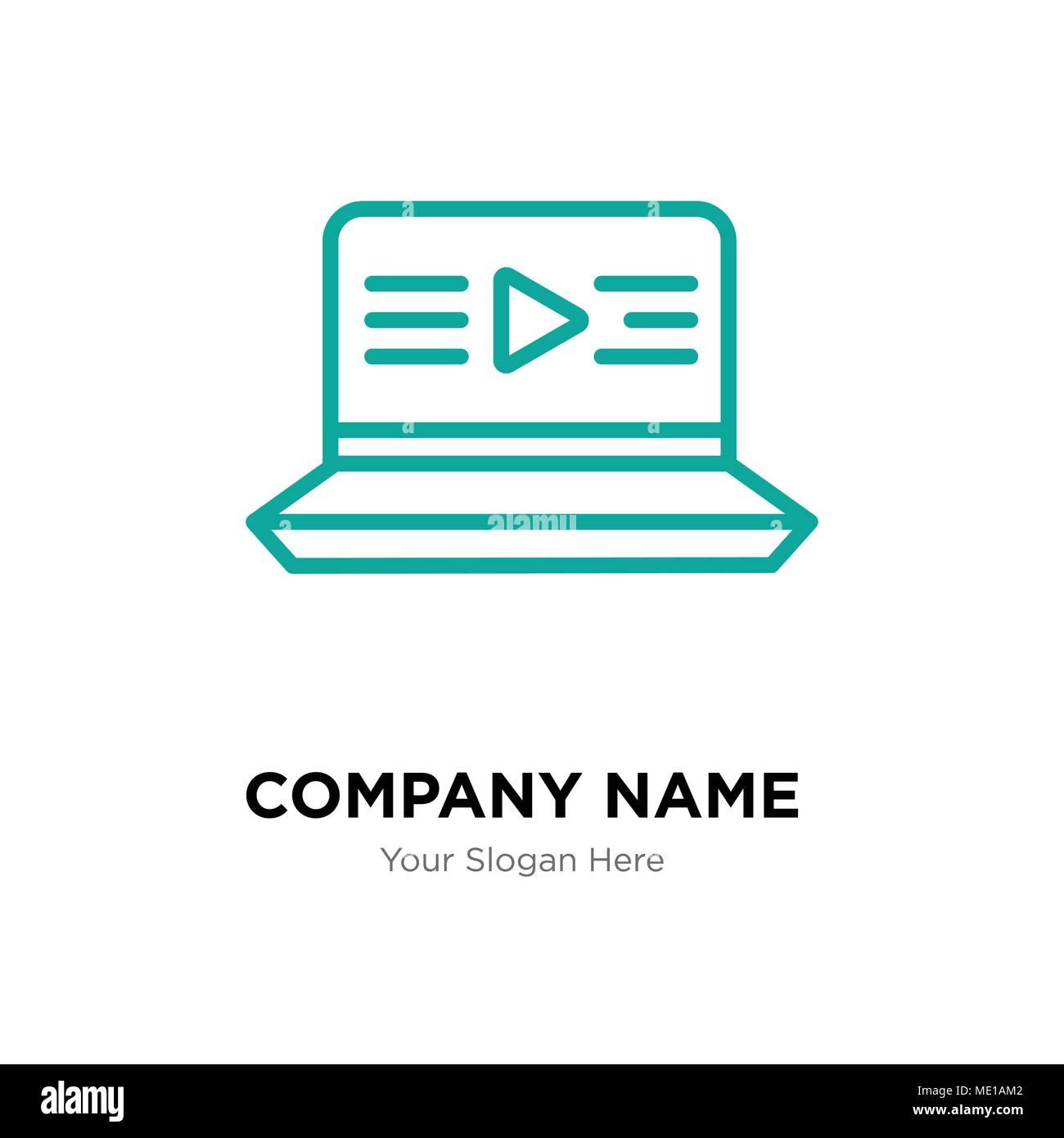Film Company Logo Design Template Business Corporate Vektor Icon