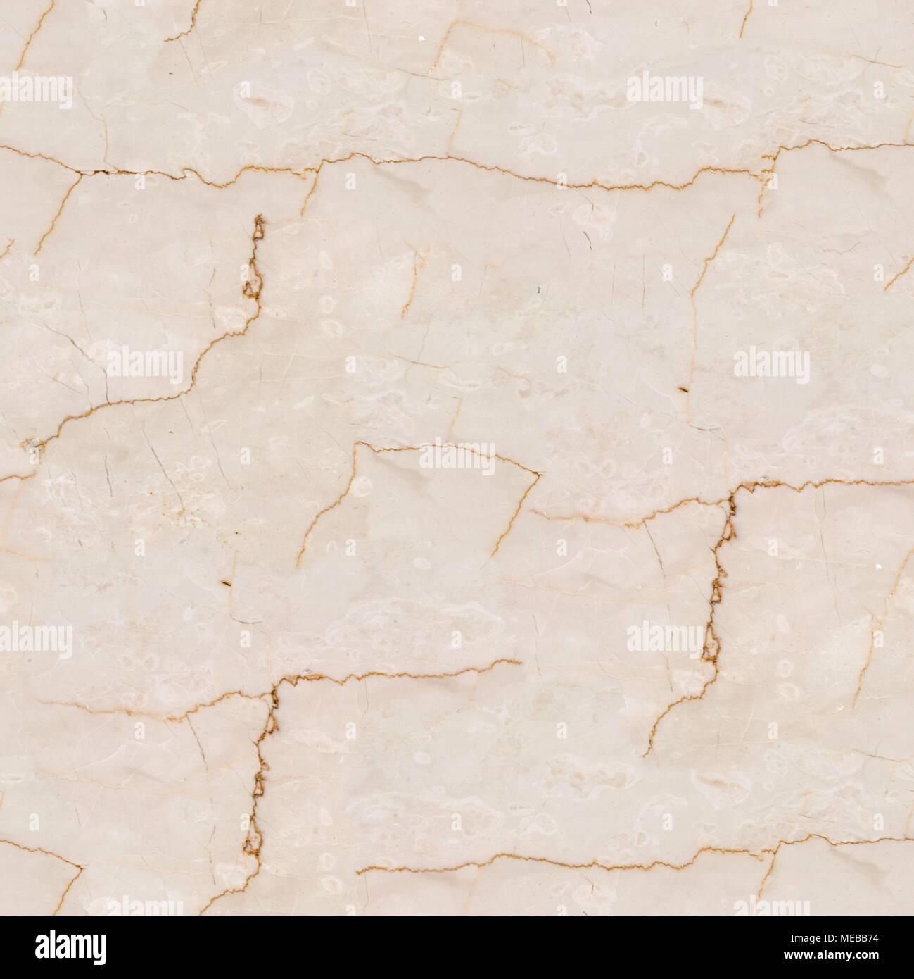 Beige Marmor Stein Textur Nahtlose Quadratische Hintergrund