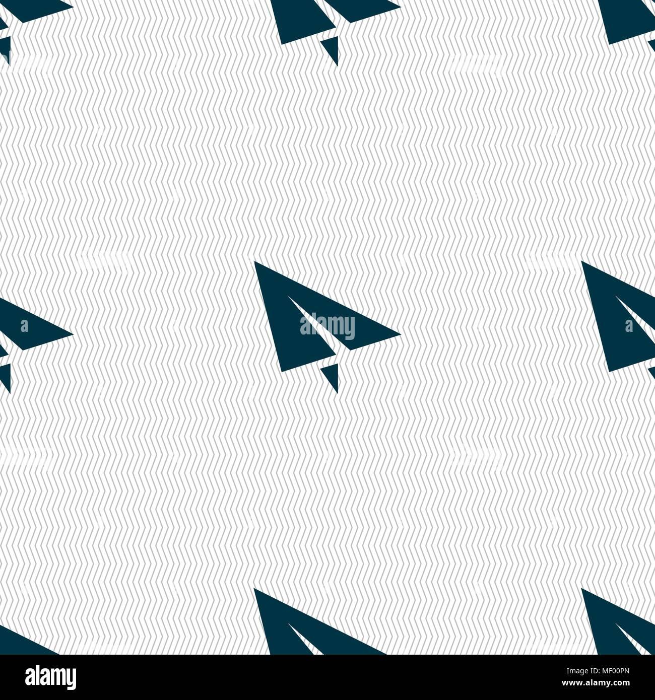Paper Plane Origami Icon Vector Stockfotos & Paper Plane Origami ...