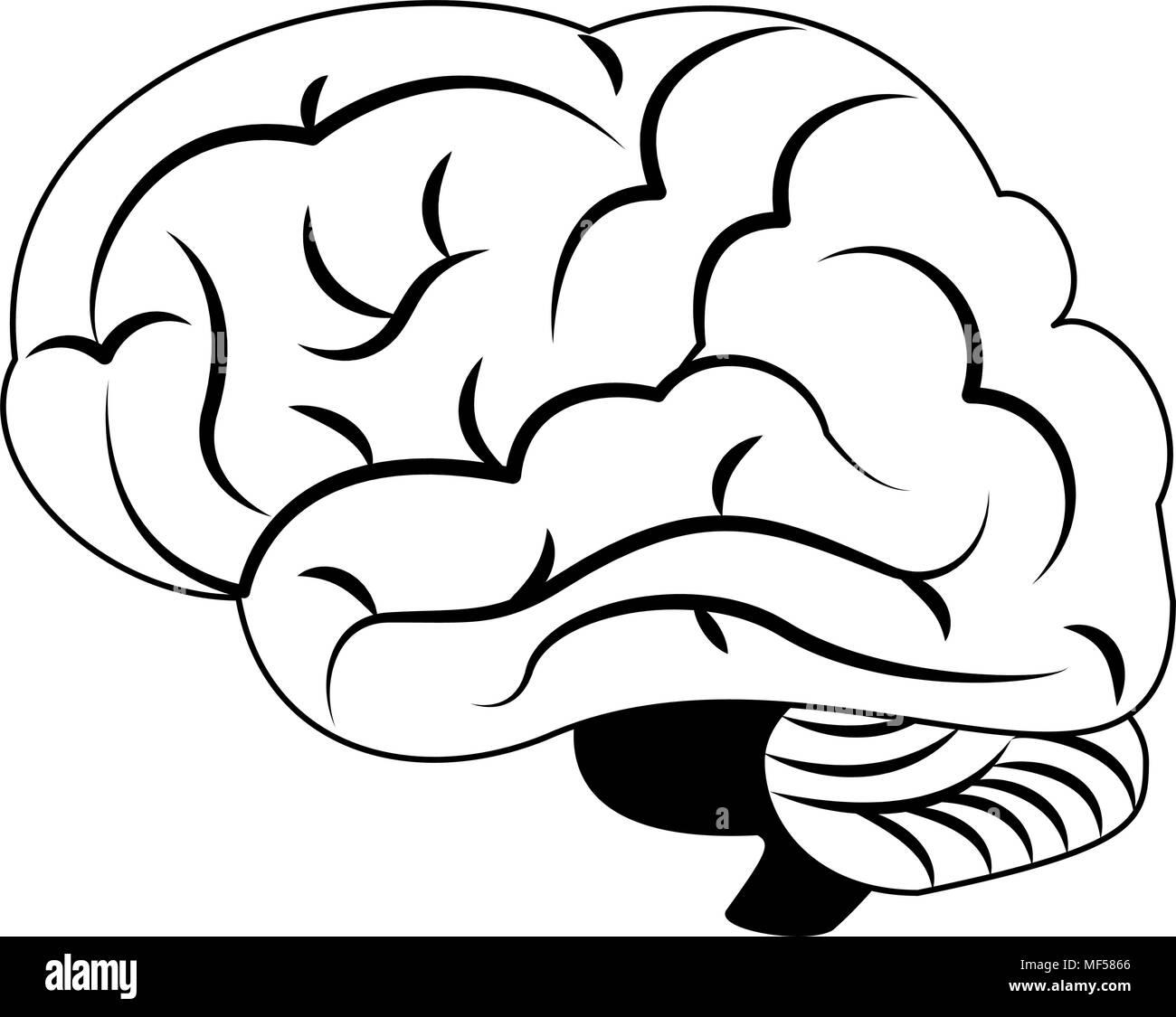 Fantastisch Gehirn Färbung Seite Ideen - Malvorlagen Von Tieren ...