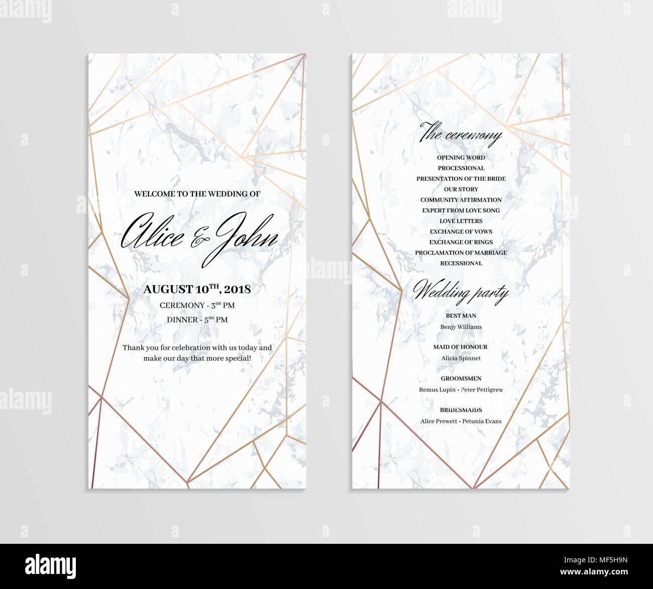 Großartig Diy Hochzeitsprogramme Vorlage Bilder - Entry Level Resume ...