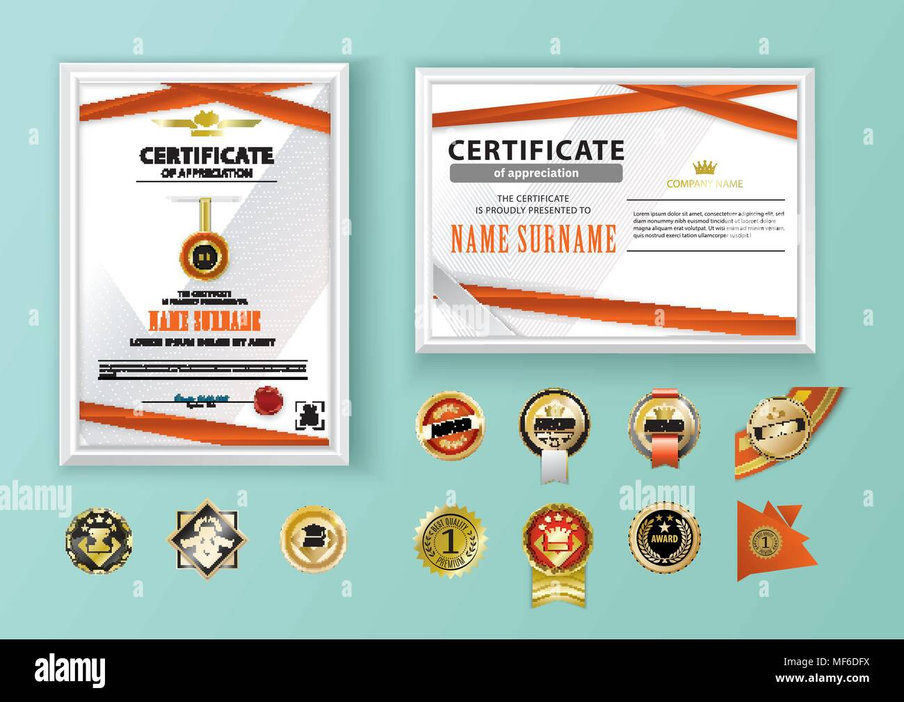 Achievement Badges Stockfotos & Achievement Badges Bilder - Alamy