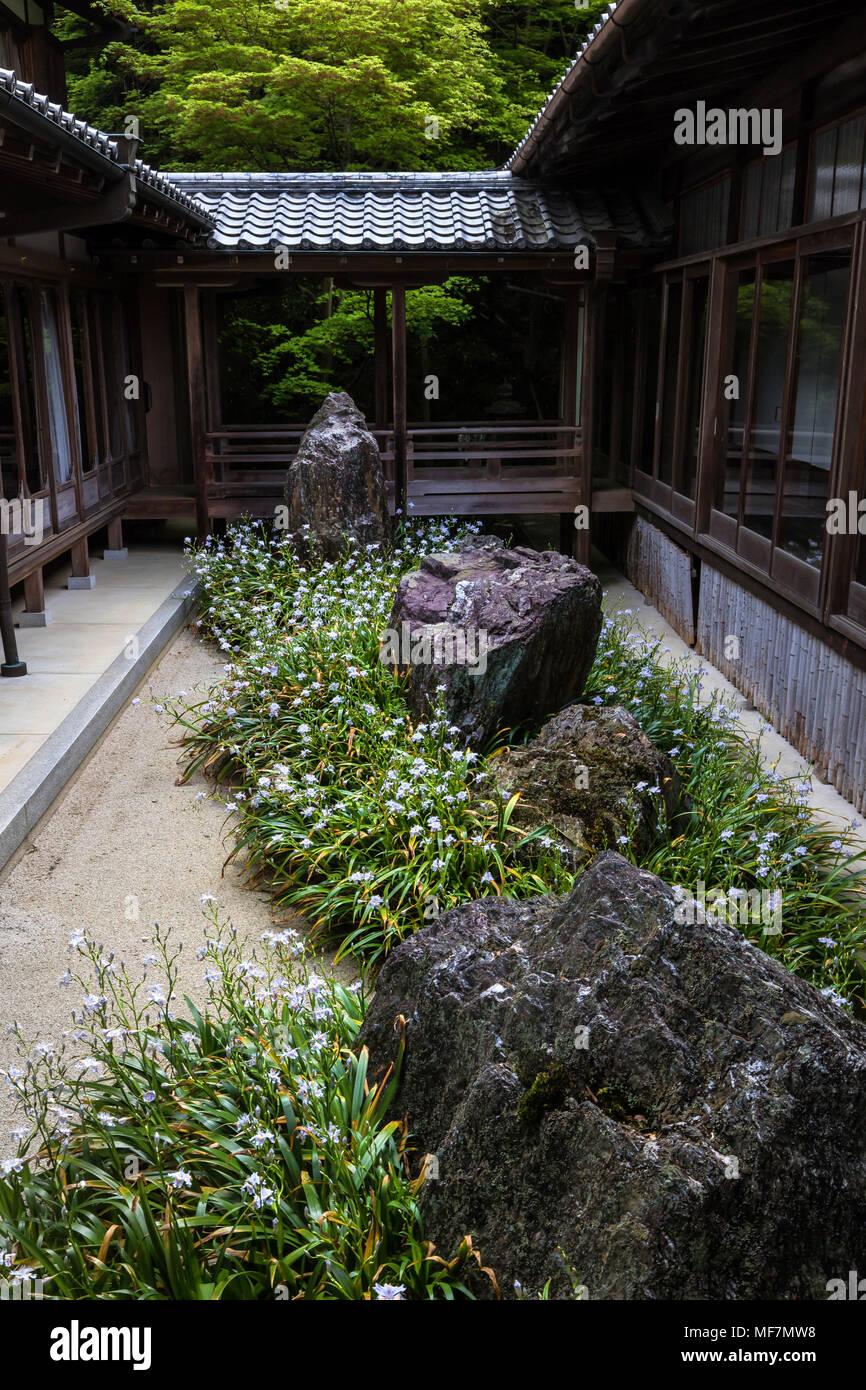 Ordinaire Sennyu Ji Garten   Sennyu Ji Tempel Am Fuße Des Mt. Tsukinowa
