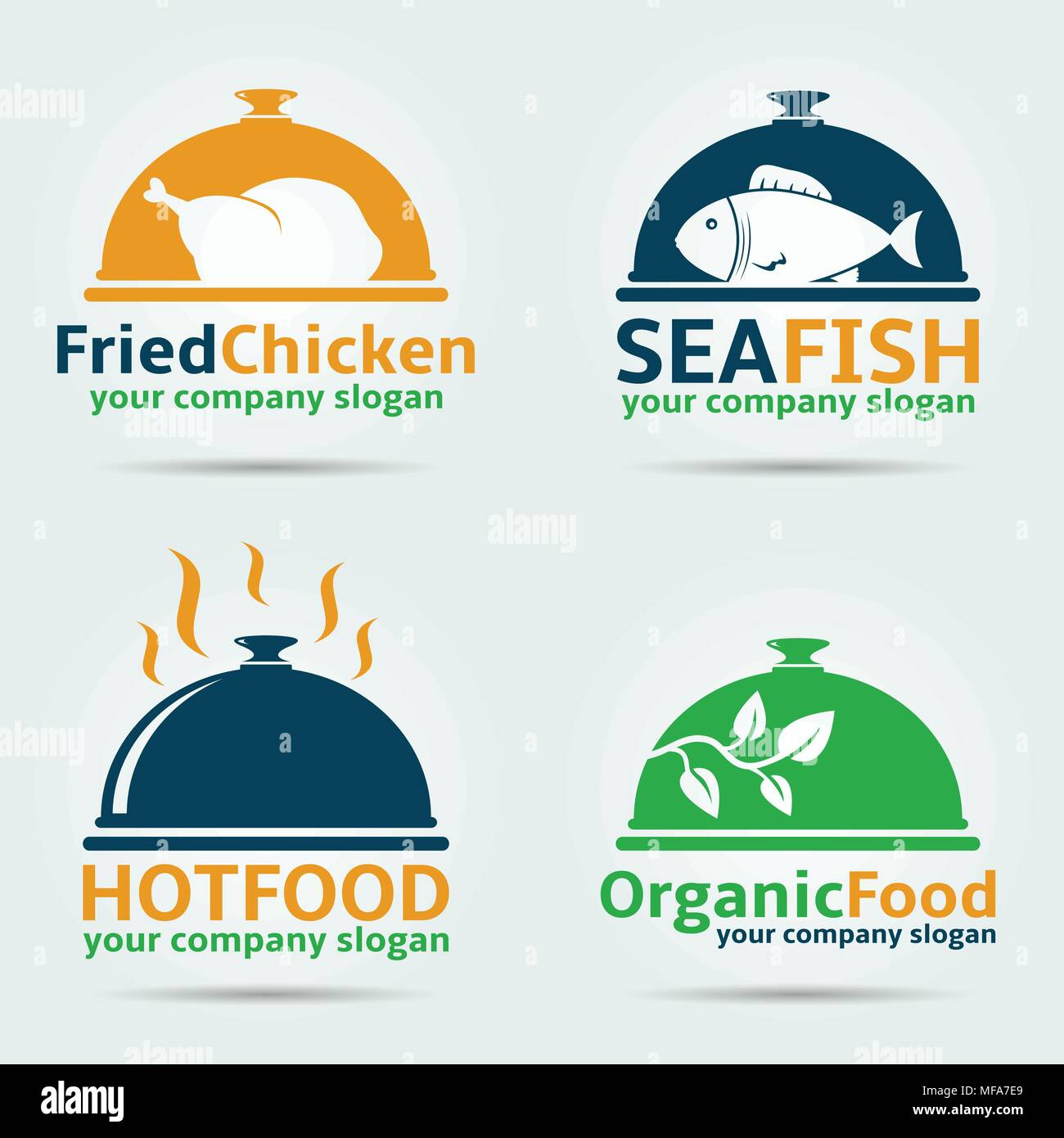 Chicken Logo Vector Stockfotos & Chicken Logo Vector Bilder - Alamy