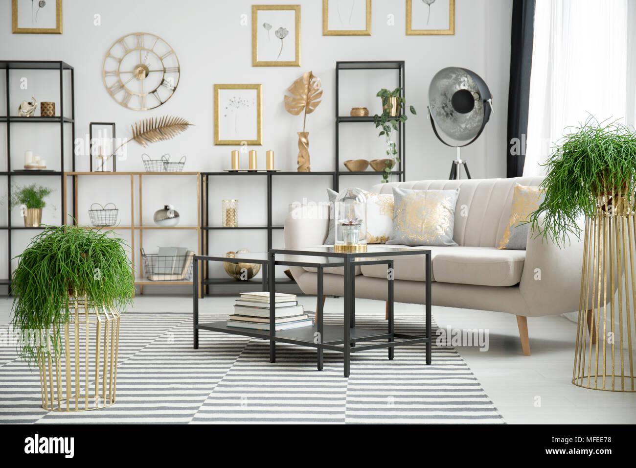 Wunderschön Wohnzimmereinrichtung Das Beste Von Pflanzen In Anspruchsvollen Wohnzimmer Einrichtung Mit Schwarzen